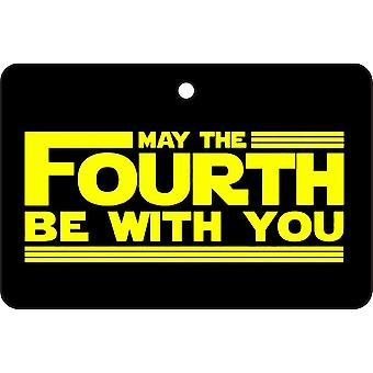 May The Fourth Be With You Car Air Freshener