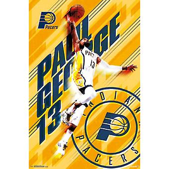 Indiana Pacers - Paul George 15 plakat Poster Print