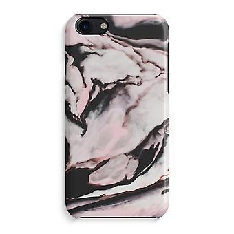 iPhone 7 pełny głowiczki (błyszcząca) - różowy strumień