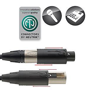 Razzo XLR M/F Convertible spina per cavo Phono - 6M