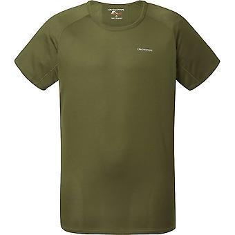 Craghoppers Nosilife SS Baselayer T-Shirt - Dark Moss