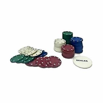 100pc Tin pokerisetti