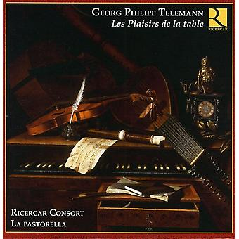 G.P. Telemann - Telemann: Les Plaisirs De La Table [CD] USA import