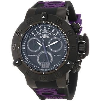 Invicta Men-apos;s Subaqua 10190 Chronograph Noir, Purple Quartz Watch