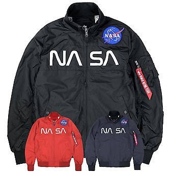 Alpha Industries Herren Blouson NASA