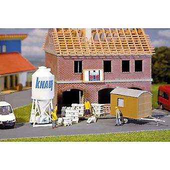 Faller 180601 H0 FA CEMENT-SILO AND CONSTR.WAGON Assembly kit