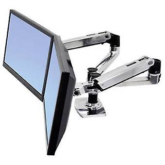 Ergotron 45-245-026 Lx 360° obrotowy Dual Monitor brakować, 15-24 18 kg czarny/srebrny