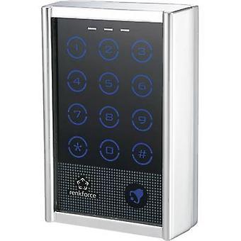 Renkforce 751402 Code lock overflaten-mount IP65 + touchscreen, + bakgrunnsbelyst tastatur