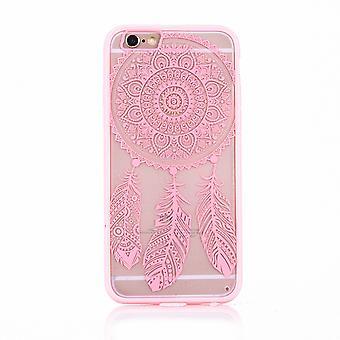 Mandala mobile caso per Apple iPhone 8 progettazione design dream catcher copertura Bag borsa paraurti Rosa
