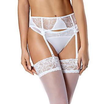 Vena VPP-337 Women's White Solid Colour Lace Garter Belt Suspender Belt
