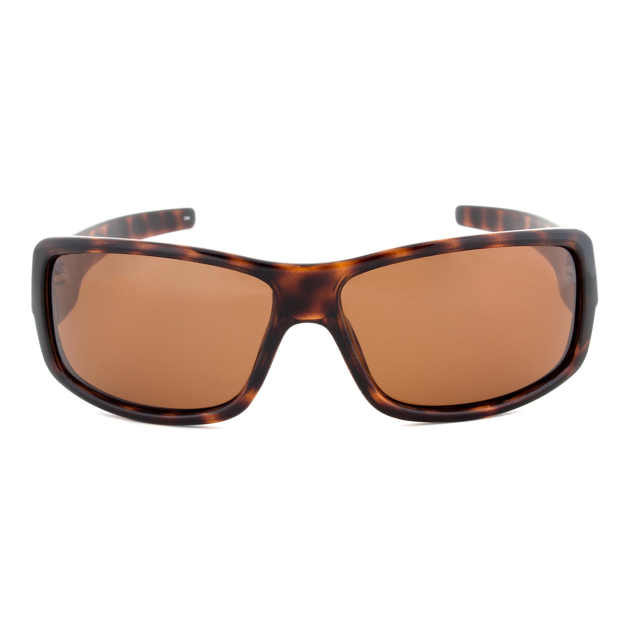 Timberland TB7092 52H Rectangular Sunglasses   Tortoise Brown Frame   Brown Lens