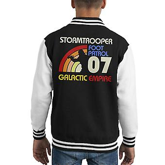 Original Stormtrooper Retro 70er Jahre Kid Varsity Jacket