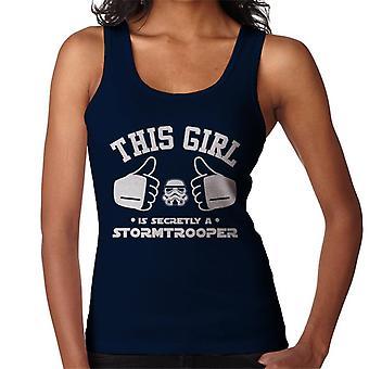 Original Stormtrooper This Girl Is Secretly A Trooper Women's Vest