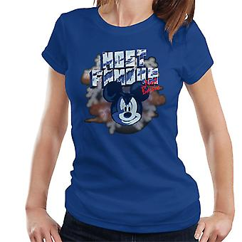 Disney Mickey Mouse Band beroemdste niet fundamentele Women's T-Shirt