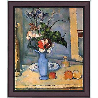 With Ram The Blue Vase, Paul Cezanne, 61x51cm