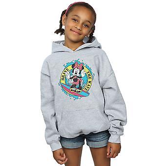 Disney Girls Minnie Mouse Cesur Dalga Hoodie