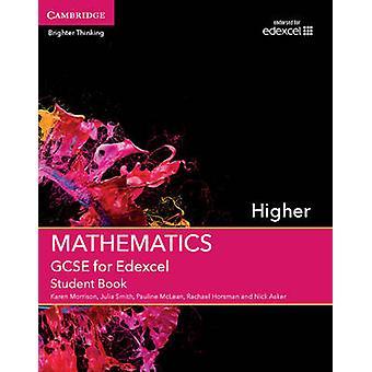 GCSE Mathematik für Edexcel höhere Schüler Buch von Karen Morrison-