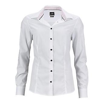 James and Nicholson Womens/Ladies Classic Plain Shirt