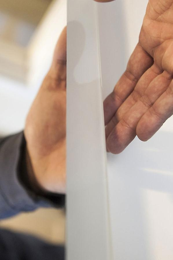 Salma rasoir Edge LED salle de bain miroir antibuée Pad & capteur k8402h