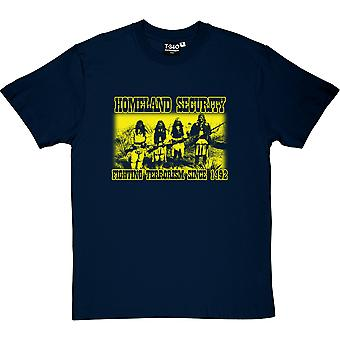 Homeland Security: Kampf gegen den Terrorismus seit 1492 Herren T-Shirt