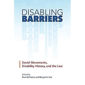 Obstacles handicapants: Mouvements sociaux, l'histoire de handicap et la loi (handicap Culture et politique)