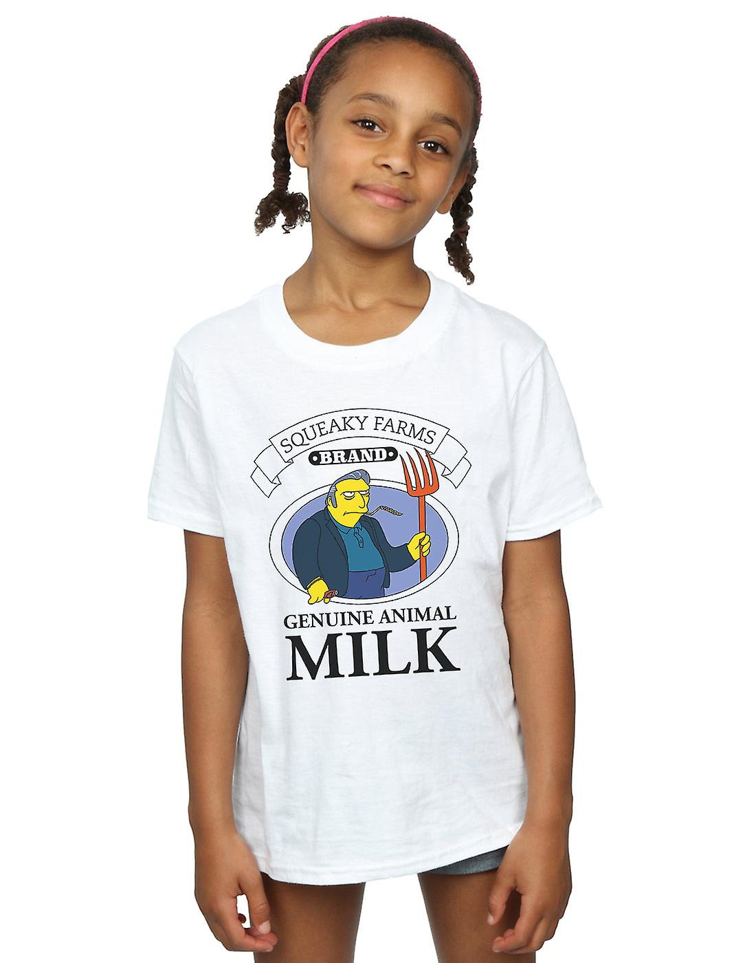 Pennytees Girls Squeaky Farms T-Shirt