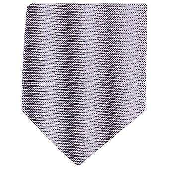 Knightsbridge Neckwear Tonal Striped Regular Polyester Tie - Purple