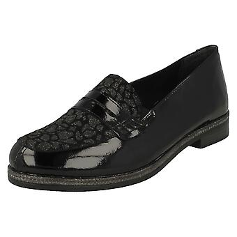 Ladies Remonte Flat Loafers D2622