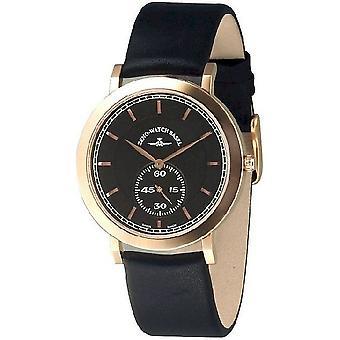 Zeno-watch mens watch flatline flat 2 quartz 6703Q-Pgr-f1