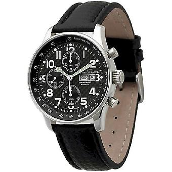 Zeno-watch mens watch X-large pilot chronograph-date special P557TVDD-s1