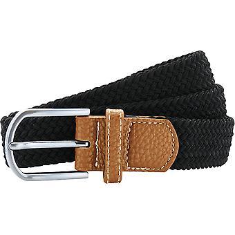 Look extérieur Womens tresse ceinture extensible