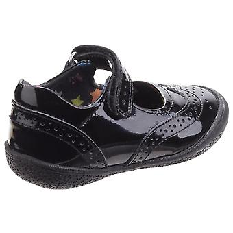 Hush Puppies Childrens Girls Rina Touch Fastening School Shoes