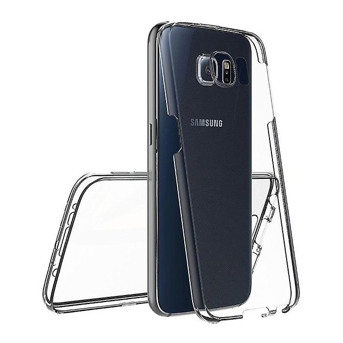 Stuff Certified® Samsung Galaxy S8 Full Body 360 ° Transparent TPU Silicone Case + PET Screen Protector