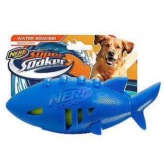 Nerf Dog Super Soaker 7inch Shark Football
