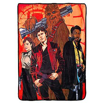 Super Soft Throws - Han Solo - Galactic Swag New 45x60