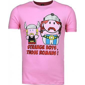 Novels-T-shirt-Pink