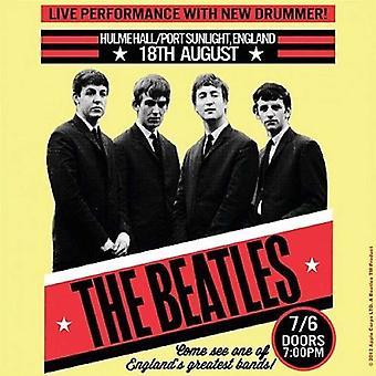 The Beatles Coaster Live Port Sunlight poster new Official 9.5cm x 9.5cm single
