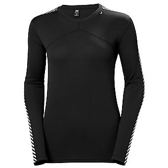 Helly Hansen Nero Donne Lifa Long Sleeve Crew