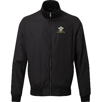 10th Royal Hussars - Licensed British Army Embroidered Harrington Jacket