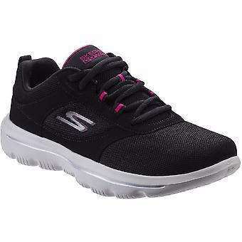 Skechers Womens Go Walk Evolution Ultra-Enhance Gym Shoes