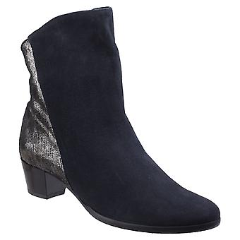 Riva Womens Anita Ankle Boot Navy