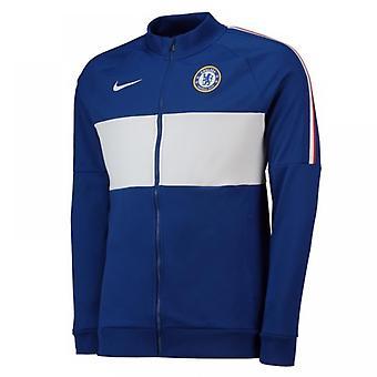 2019-2020 Челси Nike I96 Куртка (синий) - женщины