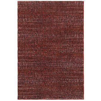 Atlas 8033k red/ rust indoor area rug rectangle 6'7