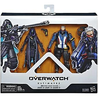 Overwatch, Action figures-Soldier 76 and Ana