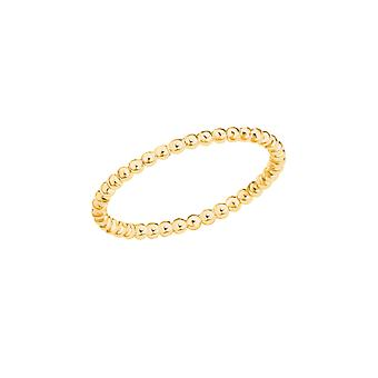 s.Oliver Jewel Women's Ring Silver 925 gold colored 202613