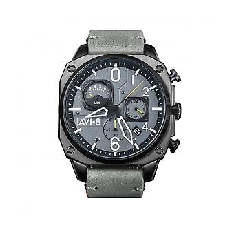 AVI-8 - Wristwatch - Men - Hawker Hunter AV-4052 - AV-4052-03 - Gris