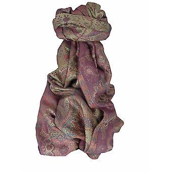 Mens Jamawar Premium Silk Scarf Pattern 6399 by Pashmina & Silk