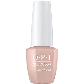 OPI GelColor Gel Color - Soak Off Gel Polish - Do You Take Lei Away 15ml (GC H67)
