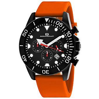 Oceanaut Men's Naval Black Dial Watch - OC1314