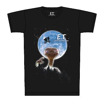 E.T. måne plakat T-shirt